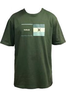Camiseta Hurley Silk Breaking Point Masculina - Masculino