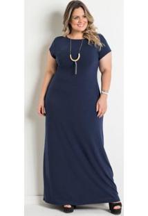 a8e8d3fcf Vestido Azul Marinho Elastano feminino | Shoelover