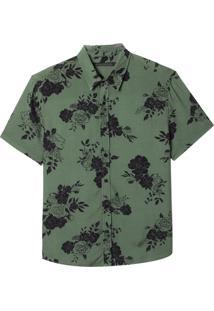 Camisa John John Jeff Estampado Masculina (Estampado, Gg)
