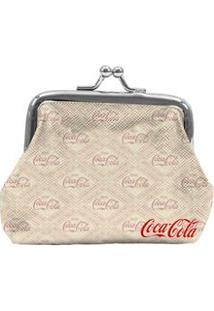 Porta-Moedas Urban Coca-Cola Vintage - Bege