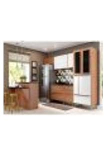 Cozinha Completa Calábria I 12 Pt 4 Gv Nogueira E Branca