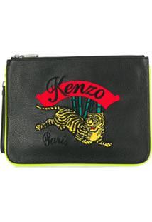 Kenzo Clutch Tiger - Preto