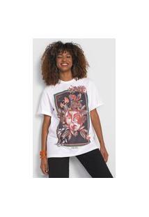 Camiseta Colcci Arts Branca