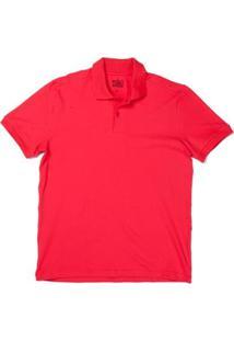 Camiseta Polo 4You Adulta Masculina - Masculino-Vermelho