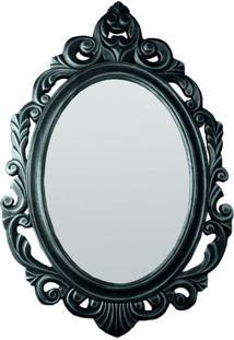 Espelho Baroque Prata Envelhecido
