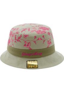 Chapéu Young Money Bucket Hat Floral - Unissex
