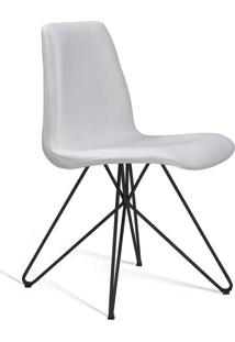 Cadeira De Jantar Eames Butterfly Preto E Cru
