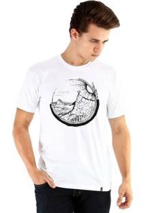 Camiseta Ouroboros Manga Curta Corcovado - Masculino