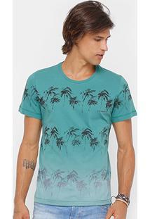 Camiseta Sommer Coqueiros Degradê Masculina - Masculino