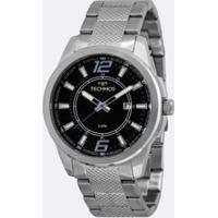 b06699d529e Kit Relógio Masculino Technos 2115Mlg K1A Analógico 5Atm + Carteira