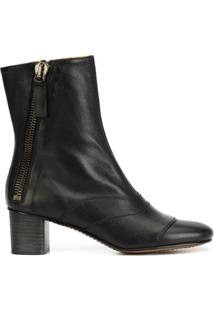 Chloé Ankle Boot Modelo 'Lexi' - Preto