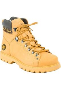 Bota West Coast Adventure Worker Classic - Masculino-Amarelo