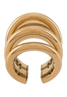 Federica Tosi Ale Adjustable Ring - Dourado