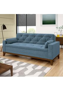 Sofá Nautillus 4 Lugares – Linoforte Moveis - Azul