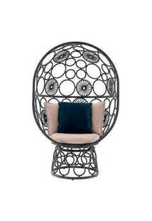 Cadeira De Corda Pina Cinza