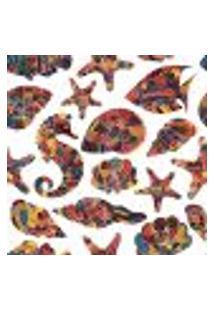 Papel De Parede Adesivo - Animais Marinhos - 050Pps