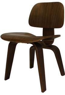 Cadeira Charles Eames Lounge Em Madeira Nogueira - 52617 - Sun House