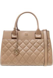 Bolsa Matelassê Com Bag Charm- Begearezzo & Co.