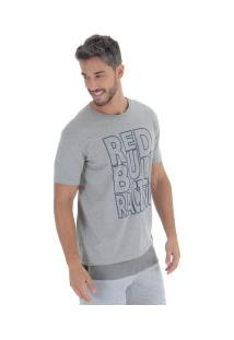 Camiseta Red Bull Racing Color - Masculina - Cinza
