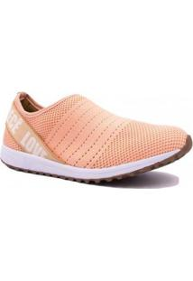 Tênis Bebecê Malha Summer Love Shoes Feminino - Feminino-Rosa