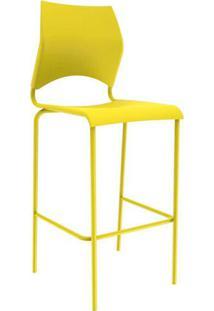 Cadeira Paladio Bistrô Amarela
