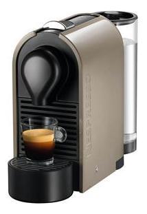 Cafeteira Expresso Nespresso U C50 Pure Grey Com Kit Com 16 Cápsulas - 19 Bar
