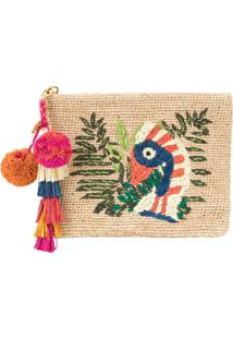 Tory Burch Bolsa Clutch Toucan - Neutro