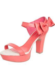 Sandália Di Cristalli Rosa
