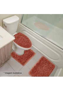 Jogo De Banheiro Spazio- Coral- 3Pçssultan