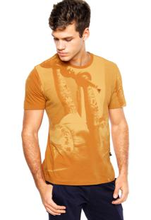 Camiseta Cavalera Oasis Caramelo