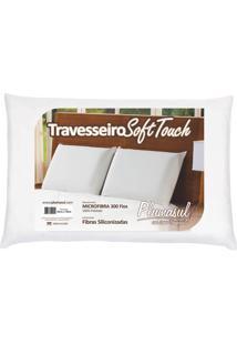 Travesseiro Soft Touch 50X70Cm Fibra Siliconizada 300 Fios Plumasul