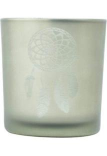 Castiçal Vidro Dream Filter Cinza