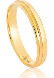 Aliança De Casamento Em Ouro 18K 3,4Mm