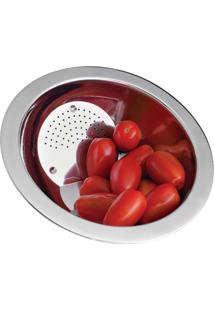 Escorredor De Arroz 20Cm Inox In2308 Euro Home