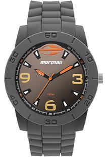 Relógio Mormaii Analógico Mo2036Hw-8L Masculino - Masculino-Cinza