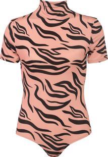 Body Enna Zebra Rosa