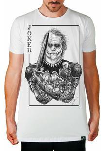 Camiseta Longline Coringa Joker Clássico Masculina - Masculino