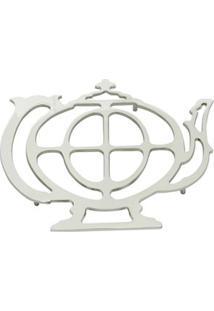 Descanso Para Panela Em Zamac Lyor Teapot 21Cm