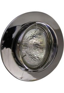 Spot Dicróica Dirigível Zamac Mr16 50W 127V Cromado