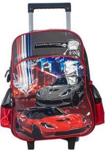 Mochilete Corvette Luxcel Masculino - Masculino-Cinza