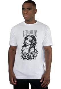 Camiseta Bleed American Timeless Branco