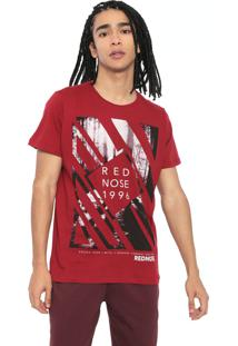 Camiseta Red Nose Estampada Vermelha