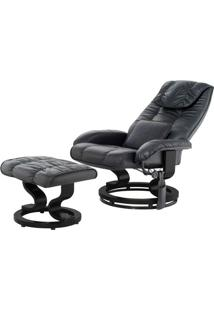 Poltrona De Massagem Louisiana Courissimo Preto - 11442 - Sun House