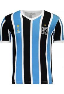 Camiseta Retro Mania Tricolor 1983