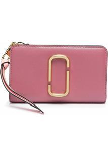 Marc Jacobs Carteira The Snapshot Compact - Rosa