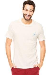 Camiseta Nautica Classic Fit Off-White