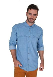 Camisa Lupim Jeans Claro