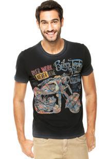 Camiseta Forum Muscle Biker Preta