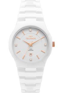 c1985cc44bc Relógio Digital Branco Technos feminino