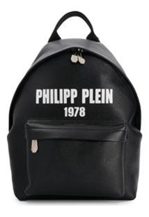 Philipp Plein Mochila Com Logo - Preto
